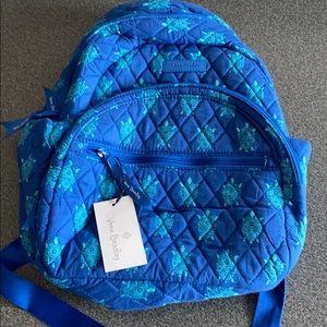Vera Bradley compact backpack marine turtles